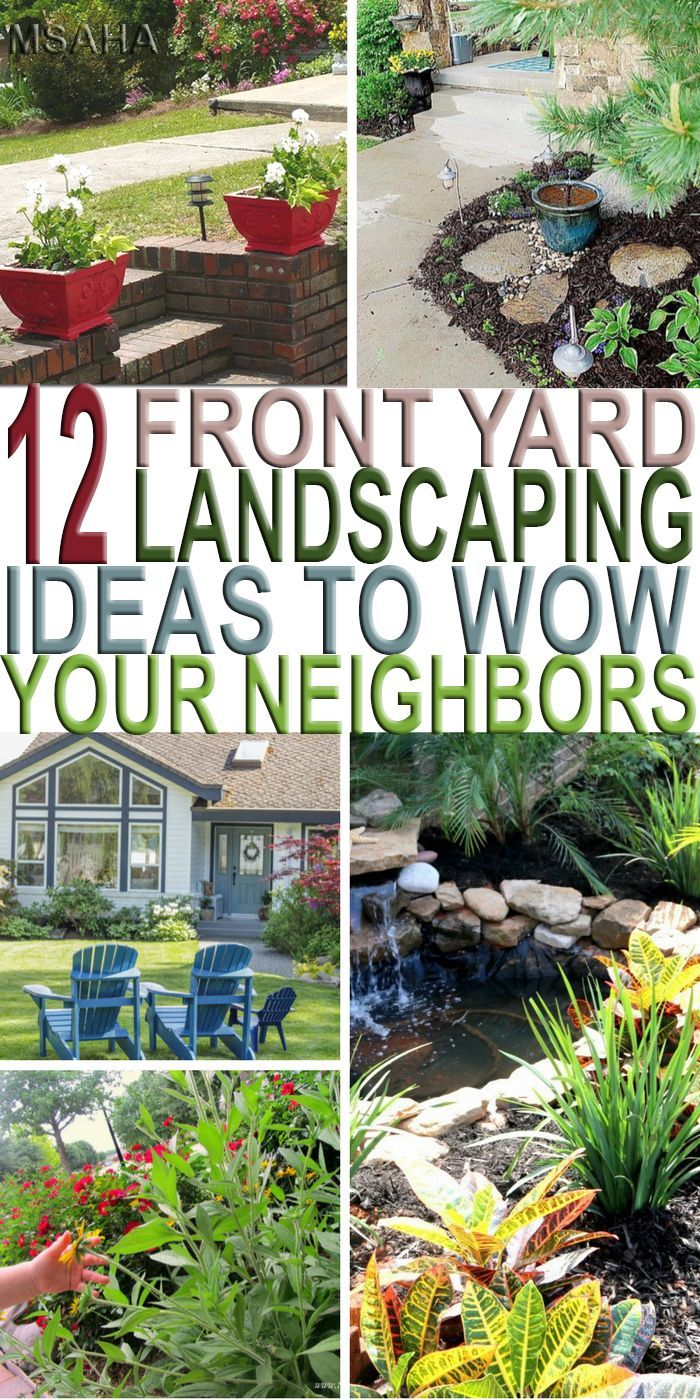 12 Simply Beautiful Front Yard Landscaping Ideas To Wow Your Neighbors My Stay At Home Adventures Front Yard Landscaping Front Yard Landscaping Design Front Yard Garden