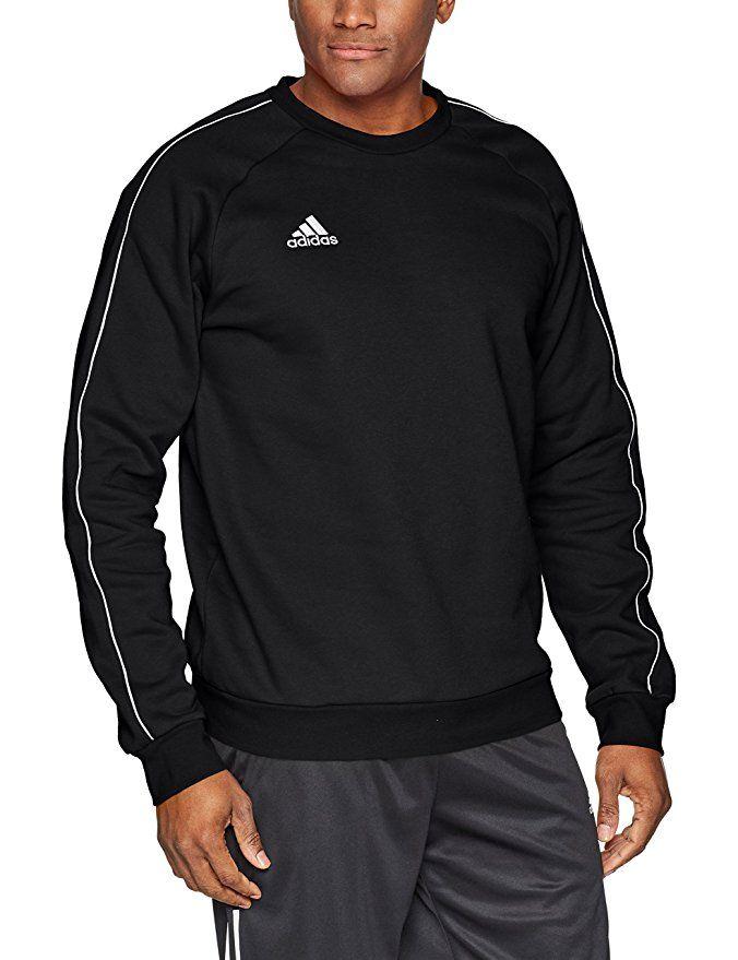 adidas Herren Tiro 17 Pullover, Black MelangeWhite, XL