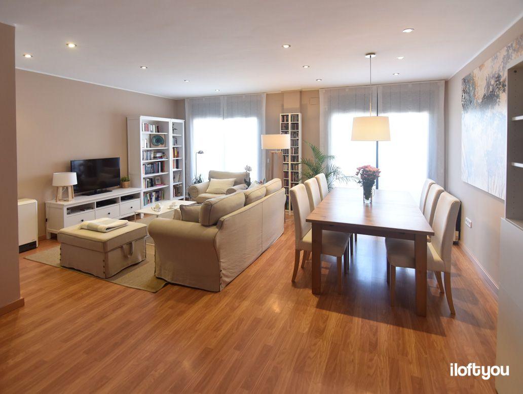 Piso en Mollerussa – i loft you – Interior Design | Salón ...