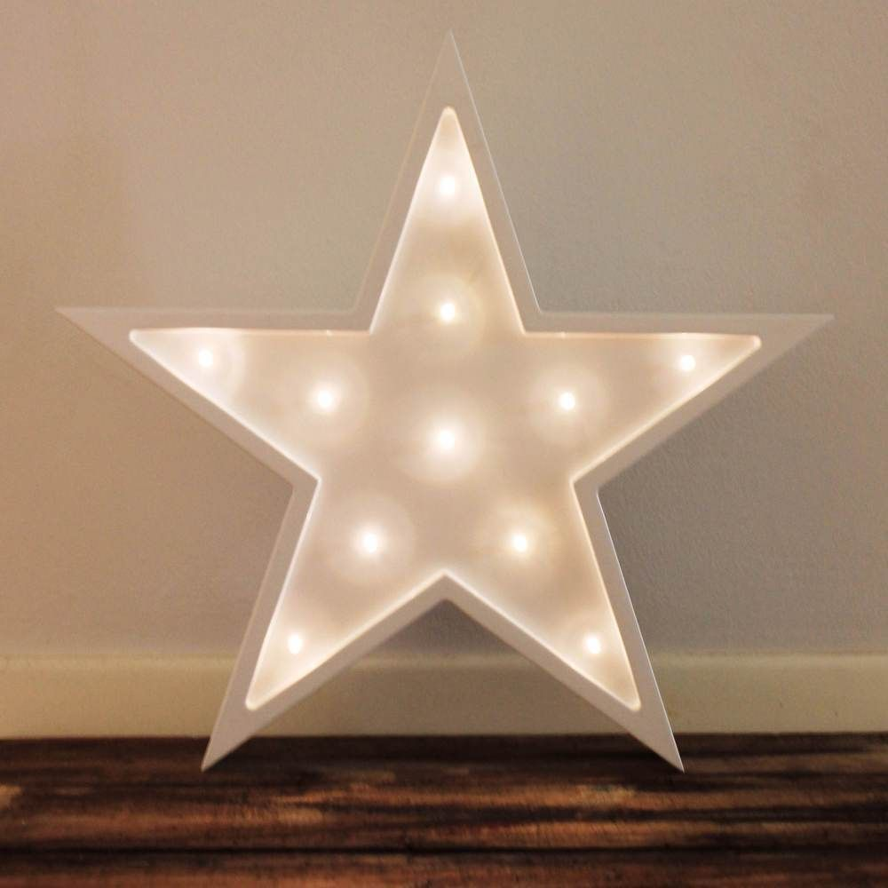 Bedroom ceiling lights stars - Little Letter Light Co S Battery Operated Star Lights Are A Unique Safe Addition To Any
