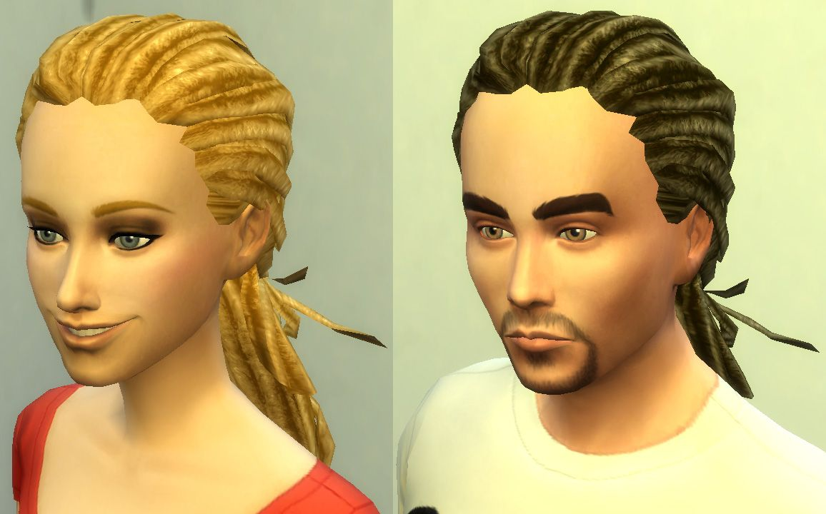 Hair Style Design: University Dreads 3t4 Hairstyle Conversion