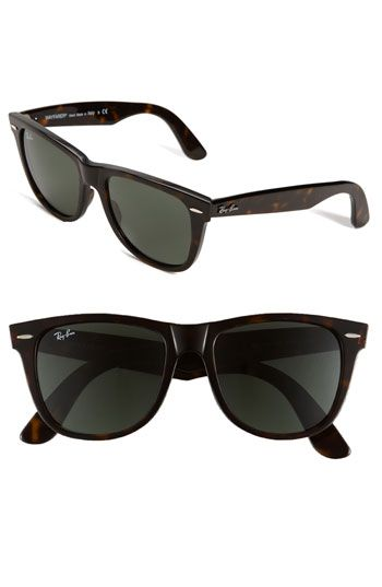 Classic ray bans. - great gift for him