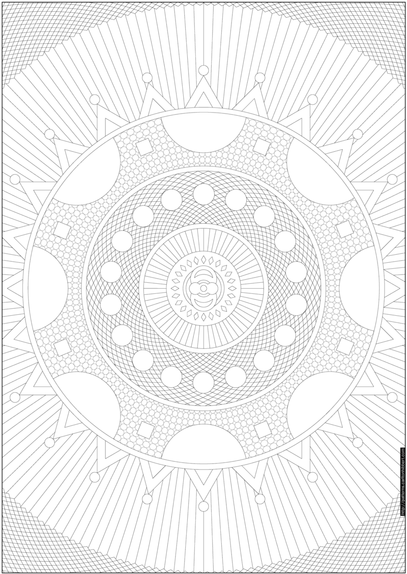 Try PIY (Print It Yourself) Patterns for Some Cool Coloring | Mandalas