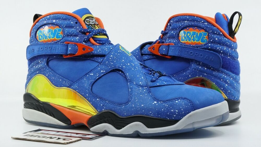 low cost dbfa0 a368e AIR JORDAN VIII 8 RETRO DB USED SIZE 14 DOERNBECHER HYPER BLUE ORANGE  729893 480  . Visit. February 2019