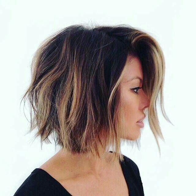 Short Brunette Hairstyles Pinjosie Alenduff On One Length Hairstyles  Pinterest  Hair