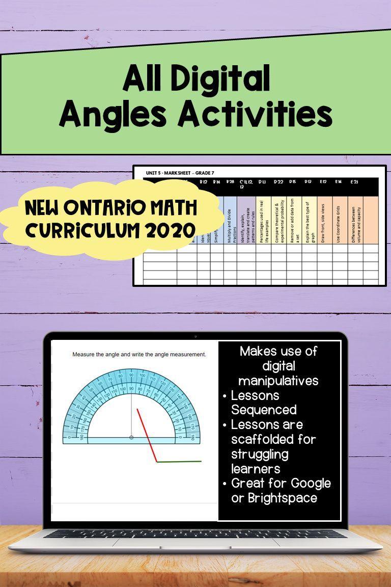 Ontario Math Angles Digital Resource Math Curriculum Math Curriculum [ 1152 x 768 Pixel ]