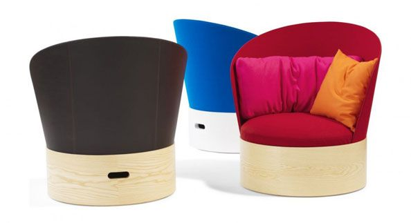 We Like The Colorful, Yet Sleek Nature Of These Modern Chairs.