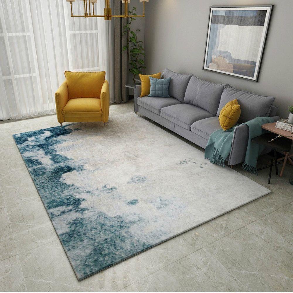 Abstract Ink Modern Carpet Home Snugs Living Room Carpet Living Room Decor Gray Modern Carpet Carpet on carpet living room