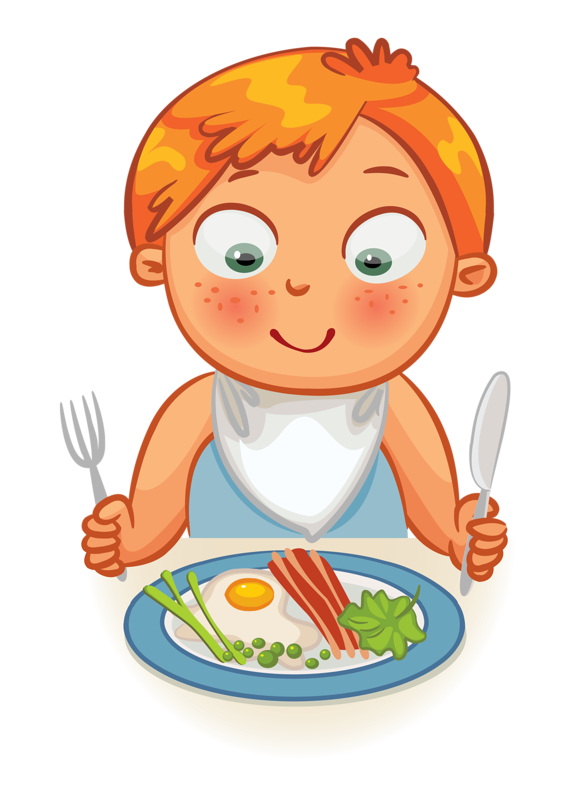 Clip art - Kid - Dinner Time / Eating Time | Clip art ...