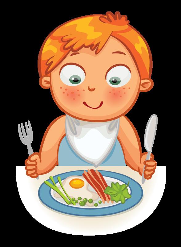 31+ Boy eat breakfast clipart ideas