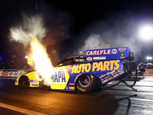 Ron Capps moves into second on NHRA Funny Car career wins list