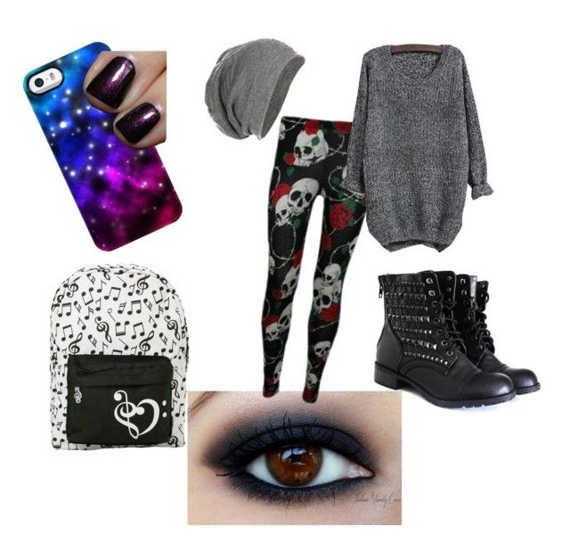"""""""Bleh."""" by misskitty28 ❤ liked on Polyvore featuring Uncommon and Chanel"""