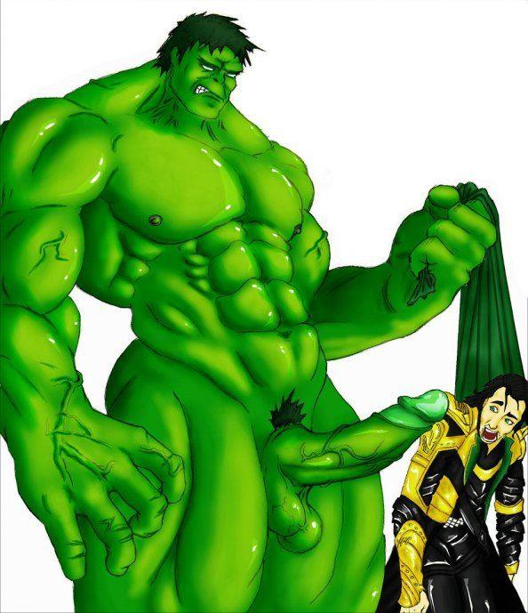 Hulk gay porn