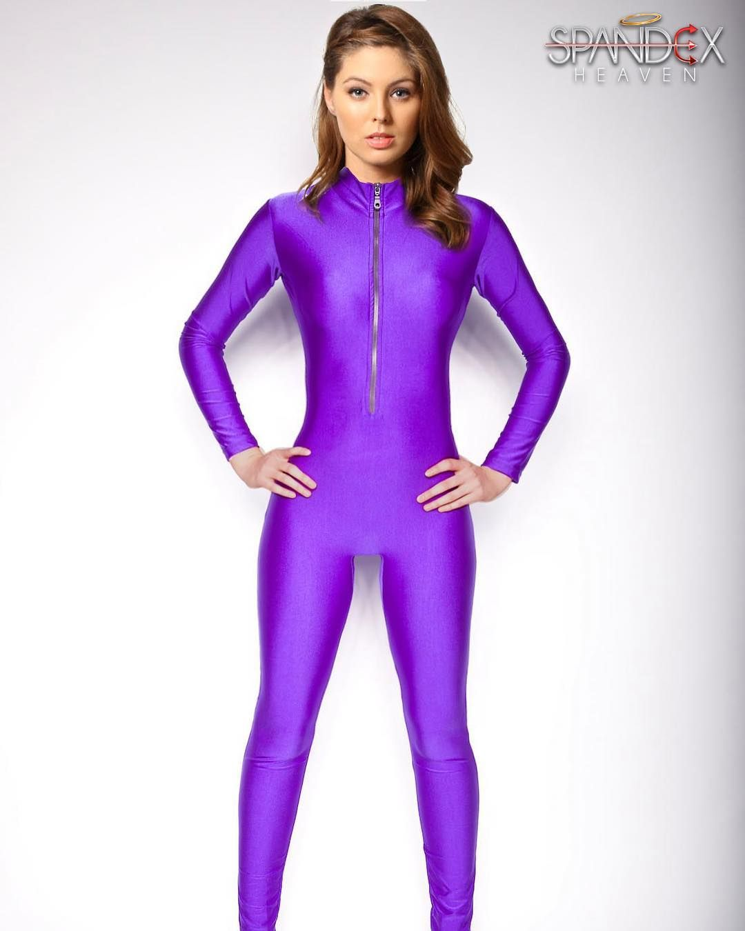 Cheap zentai leotard, Buy Quality zentai suit women directly from China  bodysuit zentai Suppliers: Adult Front Zipper Lycra Unitard Spandex  Bodysuit Womens ...
