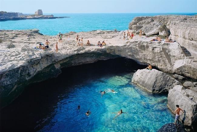 Salento Grotta della Poesia (Roca Vecchia,tra le 10 piscine naturali piu belle del mondo