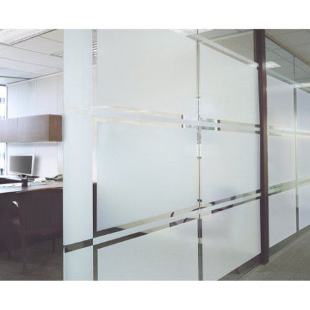 Film Window 36x72 Large Etched Per 4 Ea Clear Products