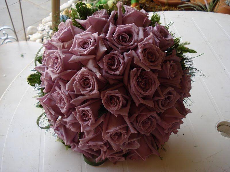 Buquê de Rosas Lílas
