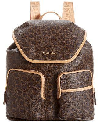 1cf08c7c29 Calvin Klein Hudson Monogram Backpack | Gorgeous purse | Klein ...
