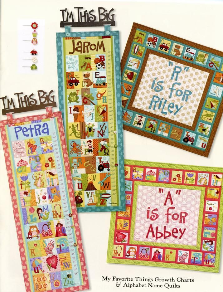 Growth Chart And Alphabet Quilt Quilt Pinterest Alphabet Quilt
