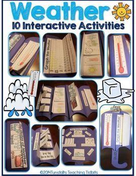 Photo of Weather Science Interactive Activities