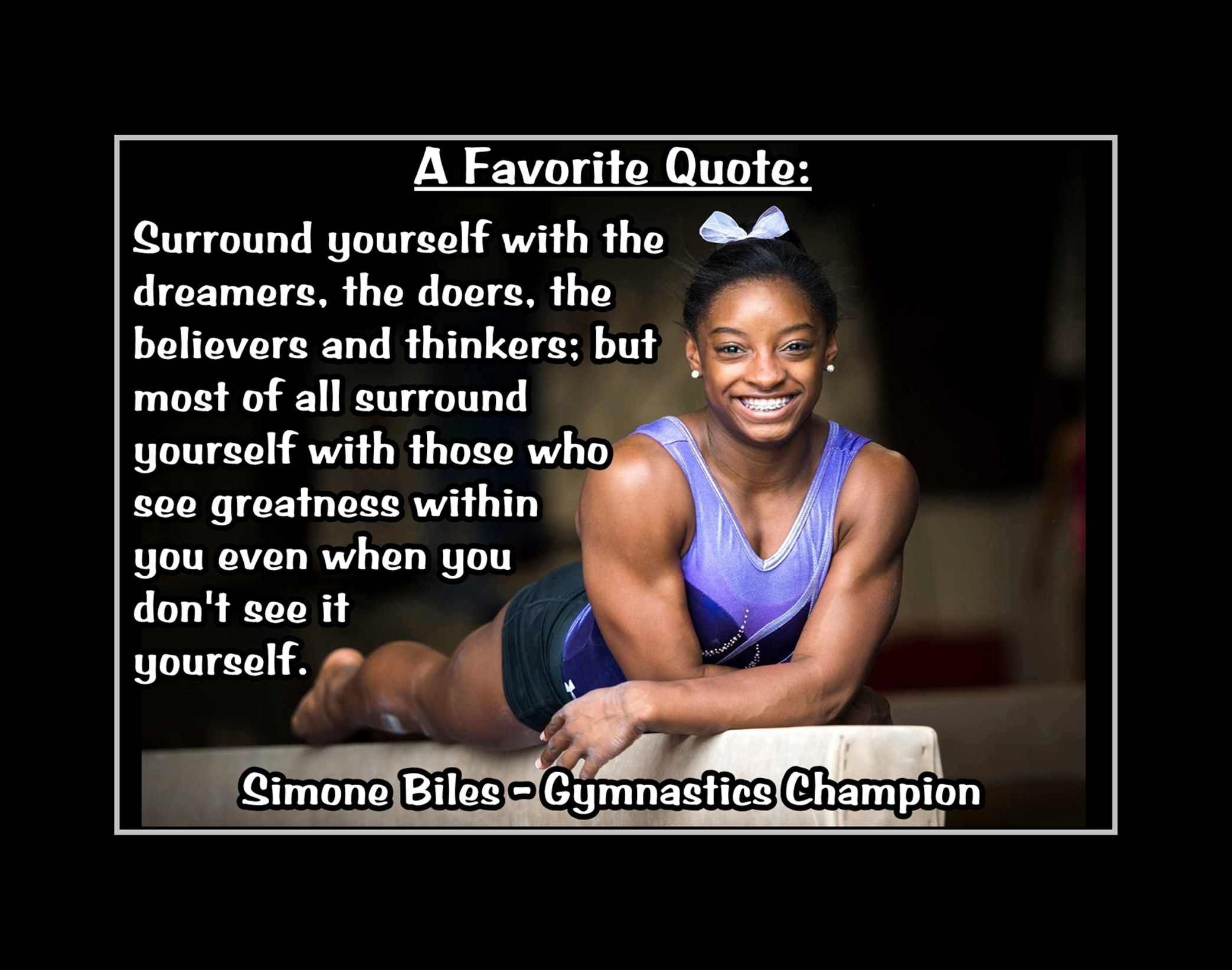 simone biles inspirational gymnastics