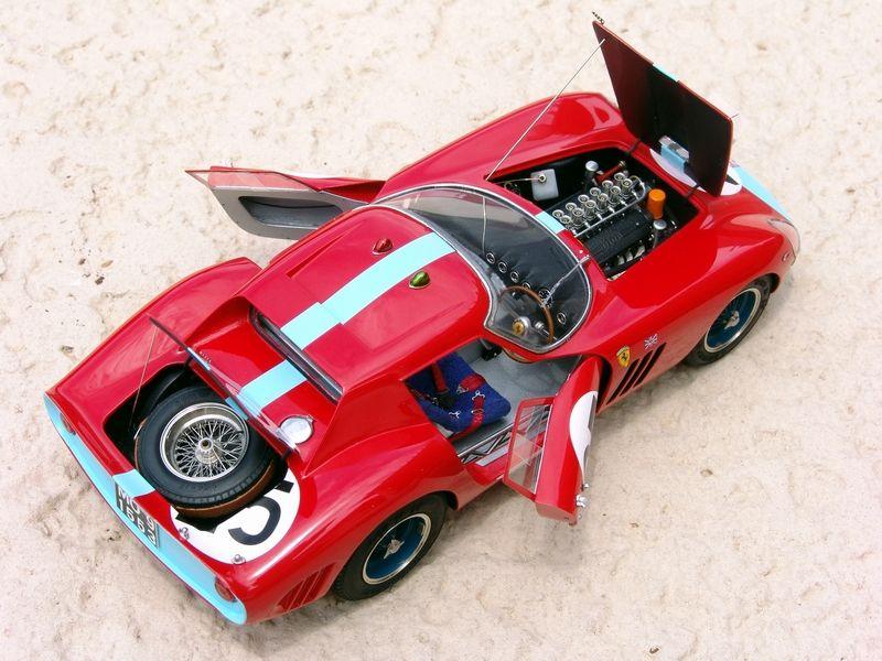Model Factory Hiro 1 24 64 Ferrari 250 Gto Series Ii S N 4399gt Model Cars Kits Ferrari Plastic Model Cars