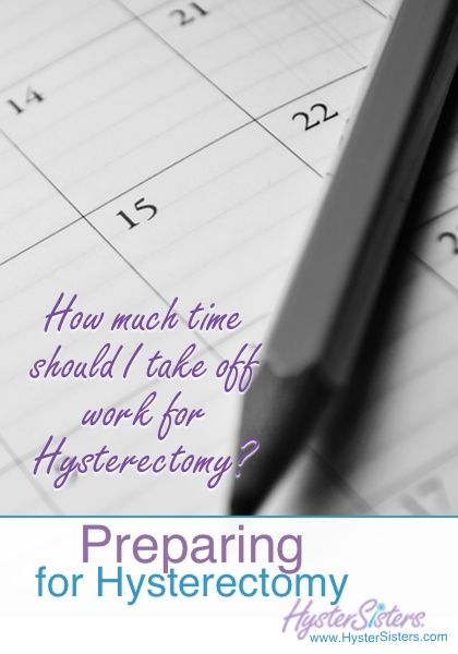 Pre Op Hysterectomy Laparoscopic