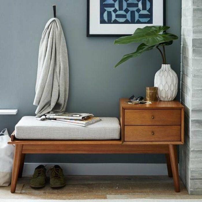 sitzbank mit stauraum f r innen oder au en sitzbank flur sitzbank und polster. Black Bedroom Furniture Sets. Home Design Ideas