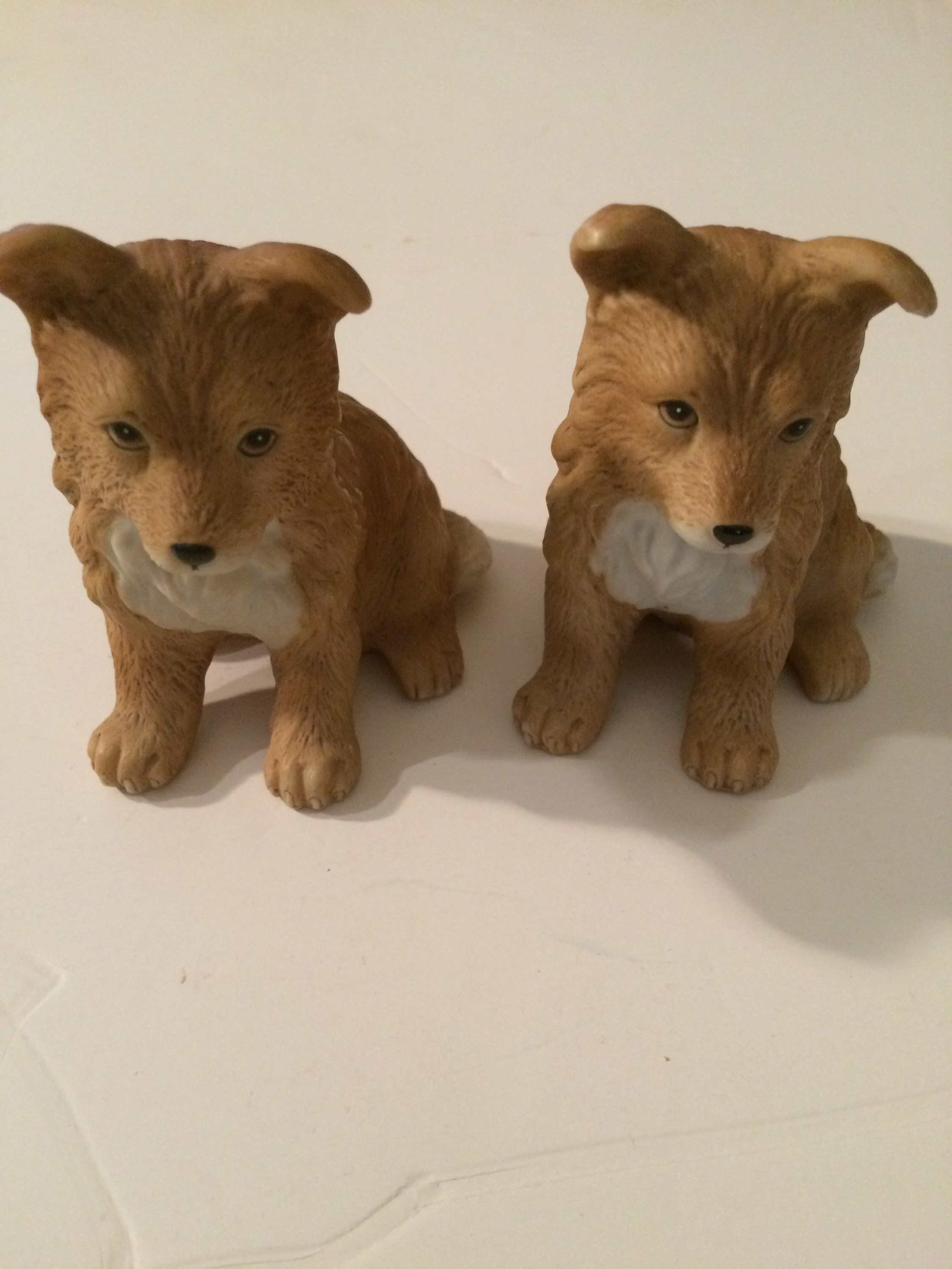 Home interior masterpiece figurines homco   red fox family figurine by beckybtreasuresshop on etsy