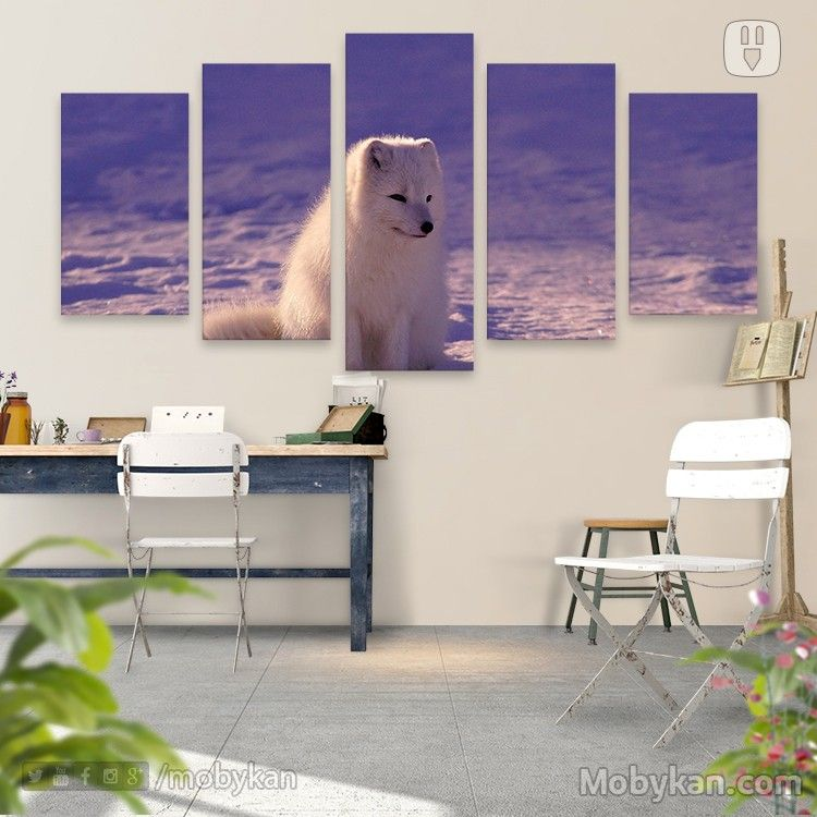 Pin By Mobykan On تابلوهات الحيوانات Desert Decor White Wolf Decor