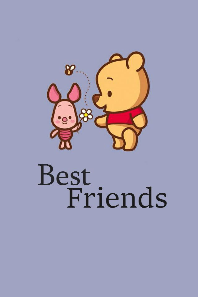 These Are Two Best Friends Most Of Us Have Known Since We Were Like 1 Month Old So This Wallpaper Is Dedicat Cute Winnie The Pooh Winnie The Pooh Drawing Pooh