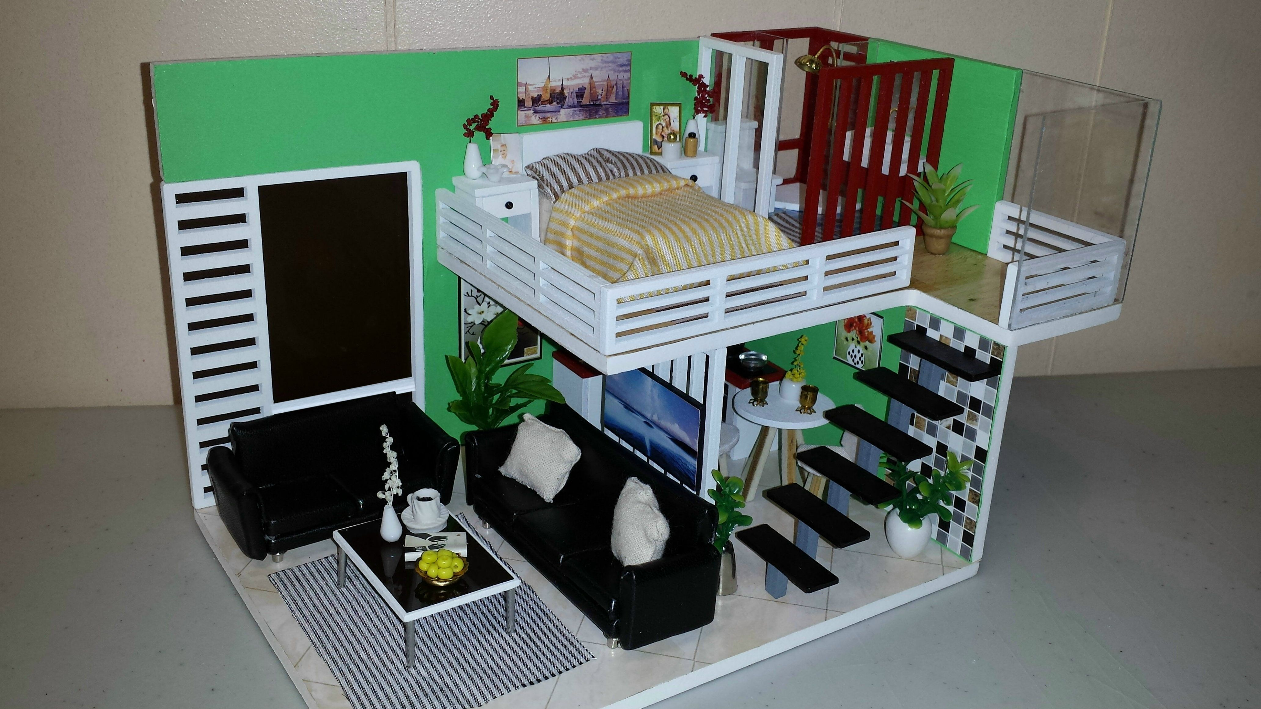 Diy Miniature Dollhouse Kit 2018 -- New --