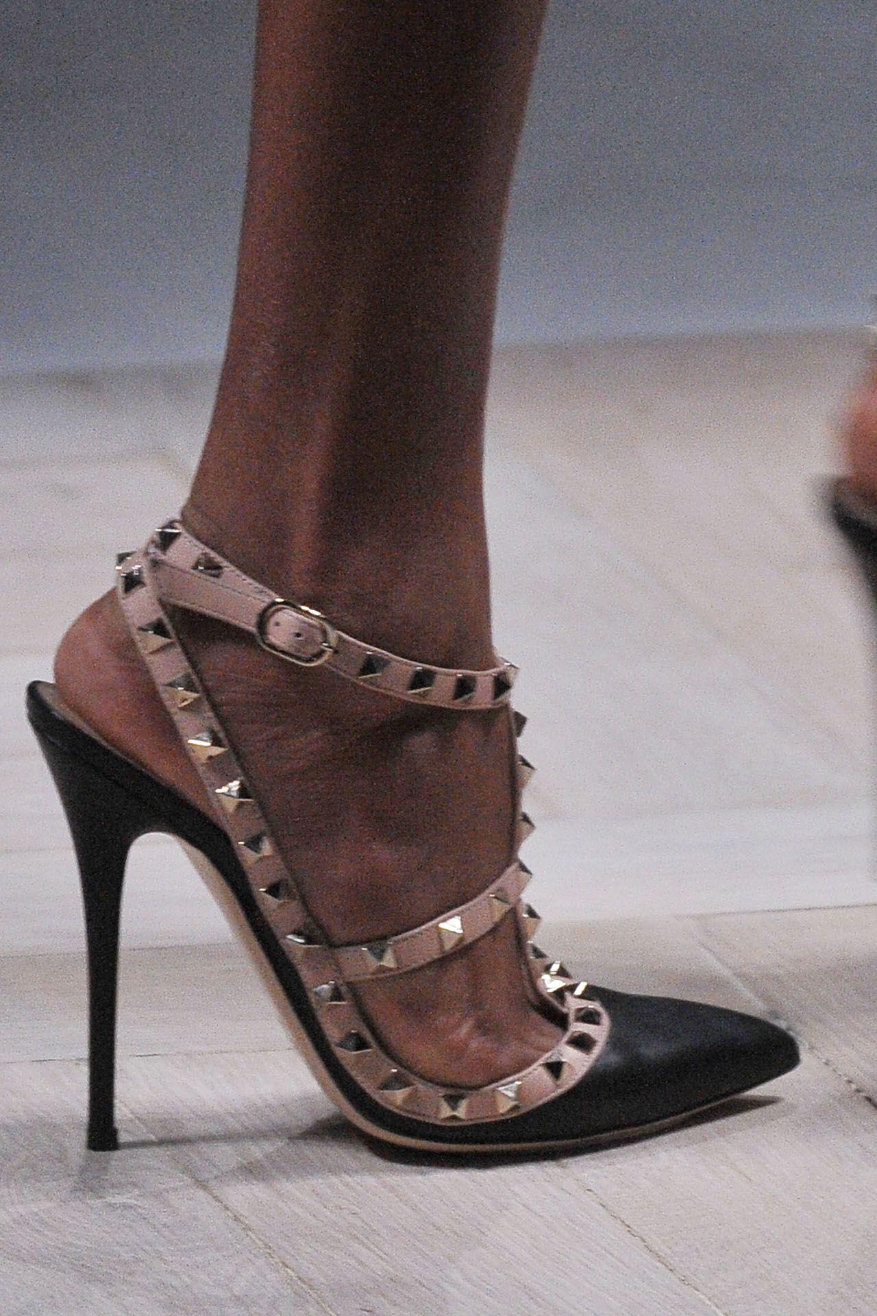 e1a9f9c86 Valentino ~ | wish list | Valentino studded heels, Studded heels, Shoes