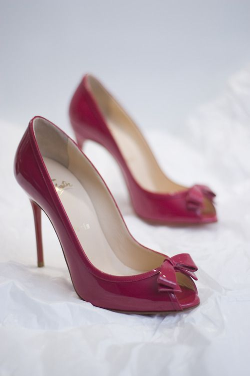e8479c49b9c bows + shoes - the Louboutin Milady 100 | ♛ Glamour- Shoes ...