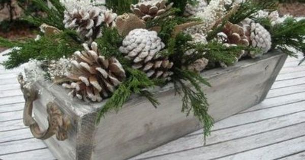christmas decor pictures | Christmas Decor ~ Outdoor Baby its cold outside holiday Christmas party theme winter forest