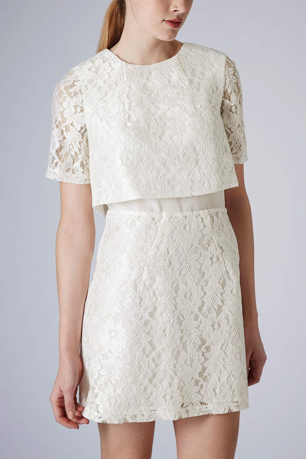 60s Lace Shift Dress - New In This Week - New In - Topshop