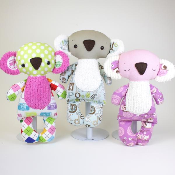 Bit of Whimsy Dolls   Koby Koala PDF Pattern   quiet book: australia ...