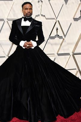 Photo of Billy Porter's Red Carpet Look Puts a Dramatic Spin on the Tuxedo Dress