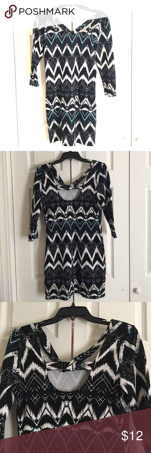 Charlotte Russe Long Sleeve Midi Size L wore once. Charlotte Russe Dresses Midi