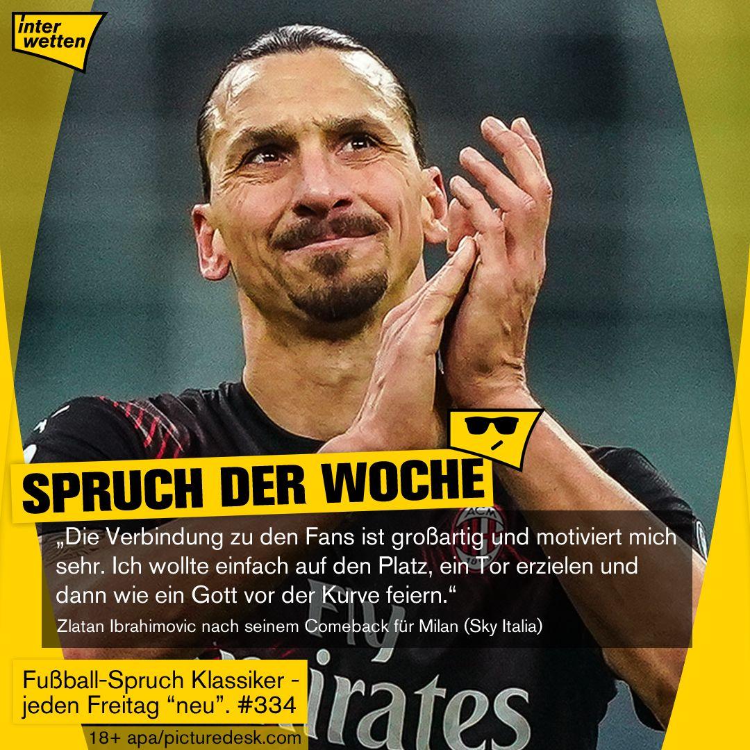 Zlatan Ibrahimovic Sprüche