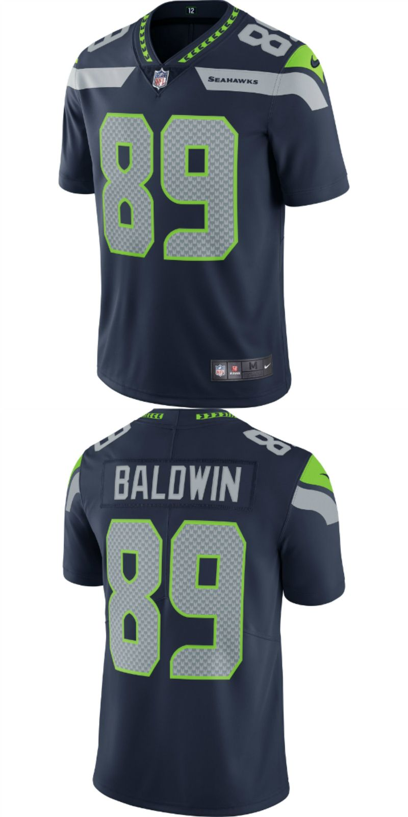 huge discount e7517 1d53c UP TO 70% OFF. Doug Baldwin Seattle Seahawks Nike Vapor ...