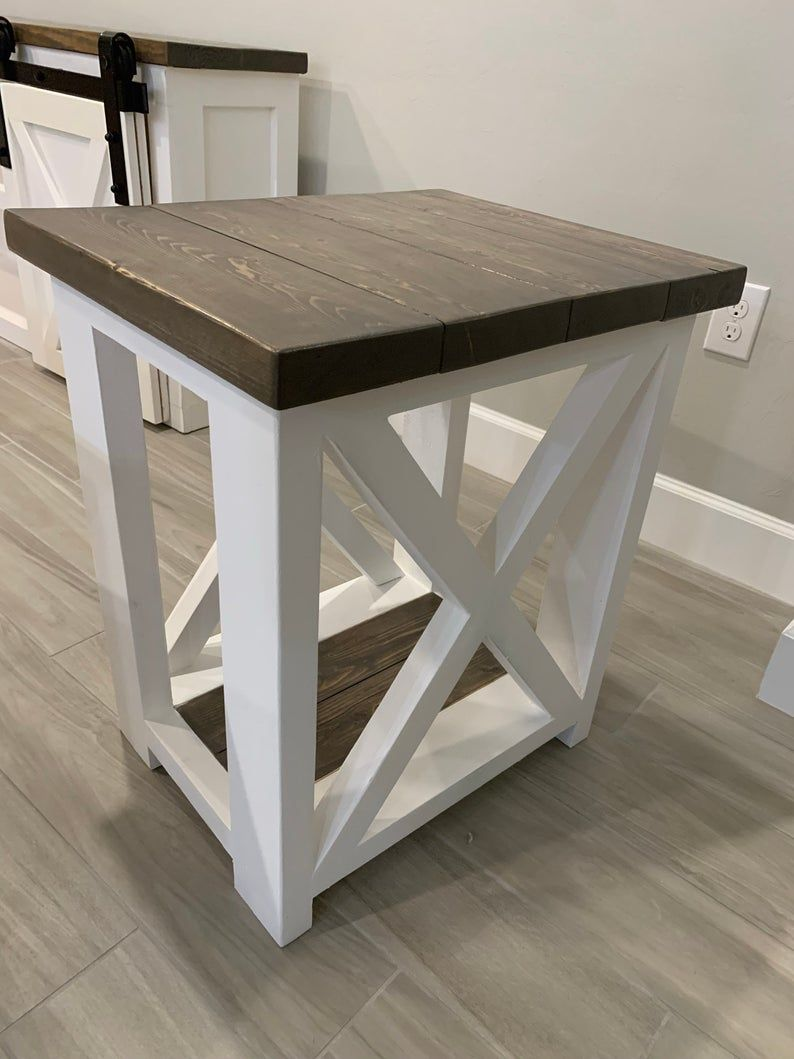 Farmhouse Coffee Table End Table Set Etsy In 2020 Coffee Table End Table Set Coffee Table Farmhouse Coffee Table