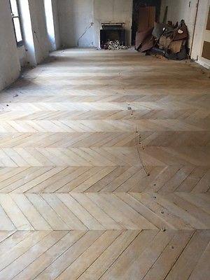 Parquets Anciens Parquet Pointe De Hongrie Lames De Parquet Floor Renovation House Flooring Home Construction
