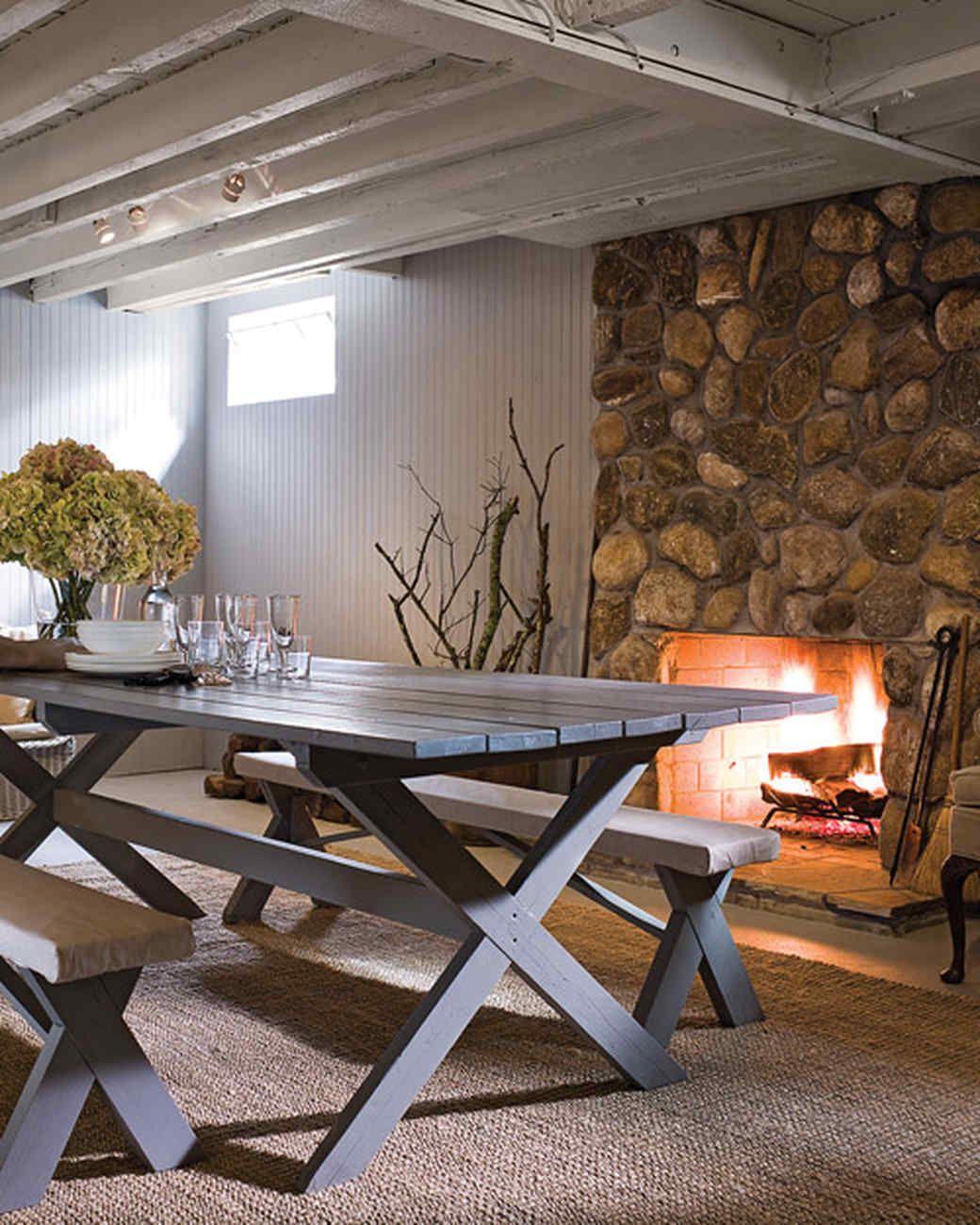 Designer Basements: A Cozy Basement Renovation