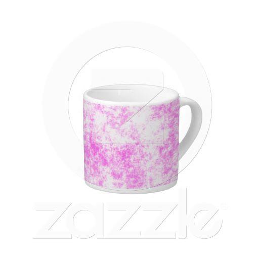 Pink Splash Espresso Mug