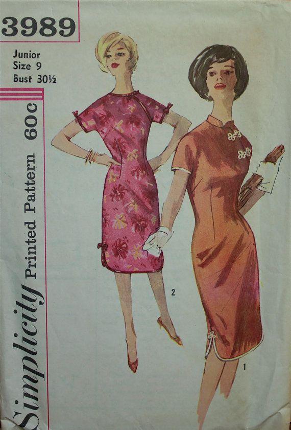 60er Jahre Kleid orientalischen Stil von patterntreasury auf Etsy ...