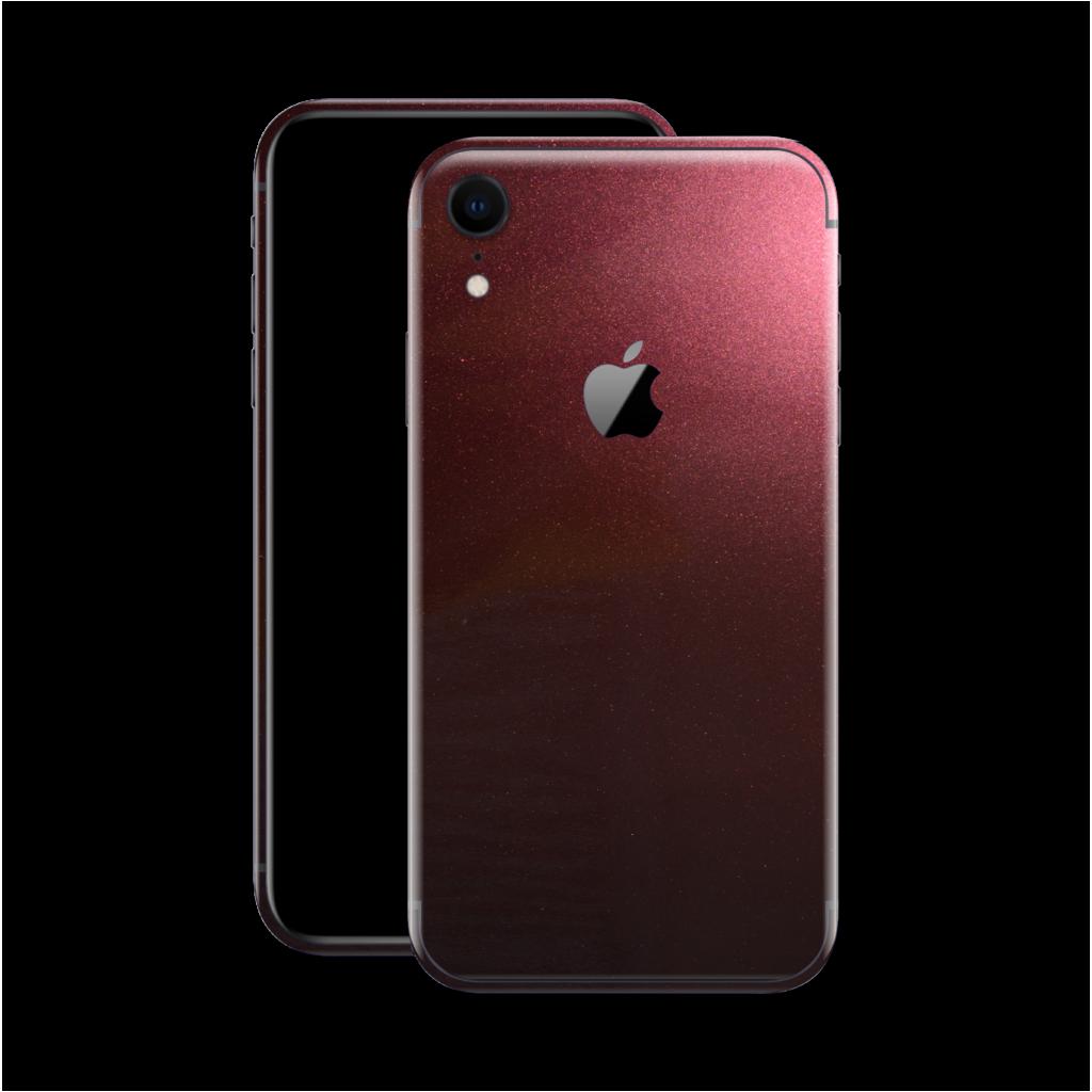 Iphone Xr Glossy Black Rose Metallic Skin Iphone Black Rose Iphone Accessories