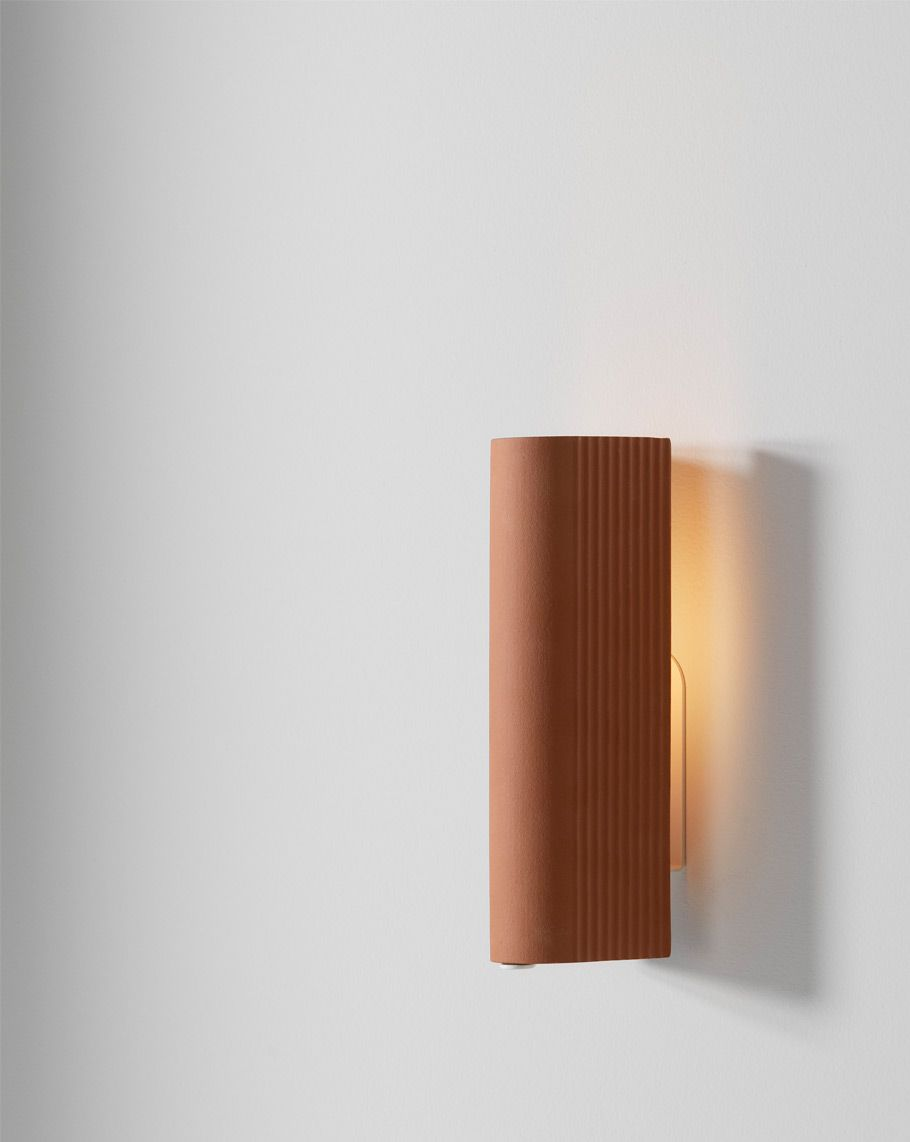 Through Its Simplicity The Tile Wall Light Enhances The Finer Hand Crafted Details Of Each Individual Tile Australian Lighting Wall Lights Ceramic Wall Lights