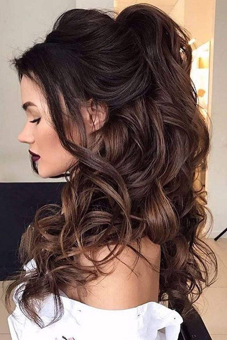 55 elegant hairstyles for prom 2019 24 #weddinghairstyles #promhairstyles #promhairstyles