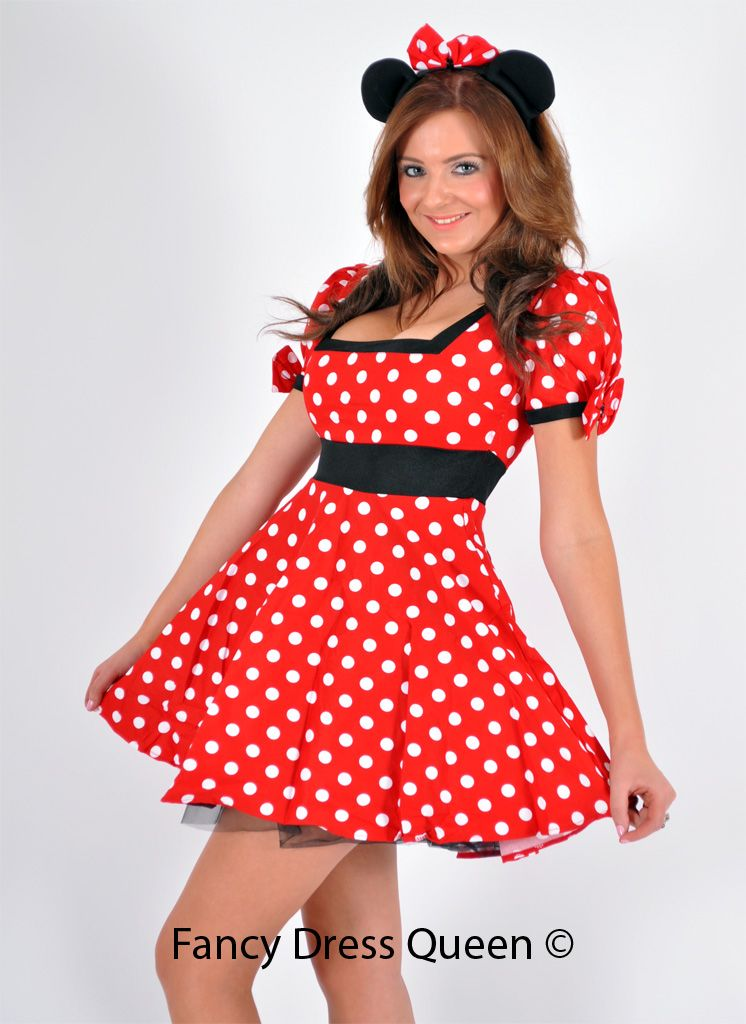 Minnie Mouse Fancy Dress | disney | Pinterest | Minnie mouse, Mice ...